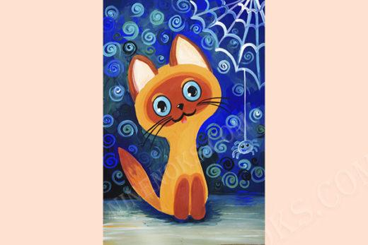 """котенок """"Гав"""". Рисунок"""